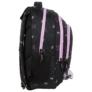 Kép 3/6 - BackUp Minnie Mouse iskolatáska, hátizsák - 3 rekeszes - Black