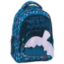 Kép 1/5 - BackUp Sellő iskolatáska, hátizsák - 3 rekeszes - Csillámos