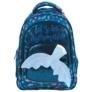 Kép 2/5 - BackUp Sellő iskolatáska, hátizsák - 3 rekeszes - Csillámos