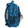 Kép 3/5 - BackUp Sellő iskolatáska, hátizsák - 3 rekeszes - Csillámos