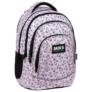 Kép 1/7 - BackUp unikornisos iskolatáska, hátizsák - 4 rekeszes - Pastel Pink