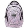 Kép 2/7 - BackUp unikornisos iskolatáska, hátizsák - 4 rekeszes - Pastel Pink