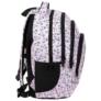 Kép 3/7 - BackUp unikornisos iskolatáska, hátizsák - 4 rekeszes - Pastel Pink