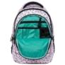 Kép 6/7 - BackUp unikornisos iskolatáska, hátizsák - 4 rekeszes - Pastel Pink