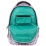 Kép 7/7 - BackUp unikornisos iskolatáska, hátizsák - 4 rekeszes - Pastel Pink