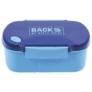 Kép 2/3 - BackUp műanyag csatos uzsonnás doboz - Sötétkék