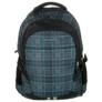 Kép 2/5 - Jetbag iskolatáska, hátizsák - 3 rekeszes - Kék kockás