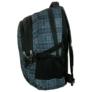Kép 3/5 - Jetbag iskolatáska, hátizsák - 3 rekeszes - Kék kockás
