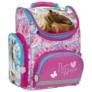 Kép 1/6 - Lovas ergonomikus iskolatáska - I love horses - Kék-rózsaszín