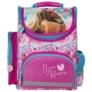 Kép 2/6 - Lovas ergonomikus iskolatáska - I love horses - Kék-rózsaszín