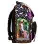 Kép 3/6 - Lovas ergonomikus iskolatáska - I love horses - Fekete