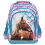 Kép 2/5 - Lovas iskolatáska, hátizsák - I love horses - Kék-rózsaszín