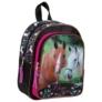 Kép 1/3 - Lovas kisméretű hátizsák - I love horses - Fekete