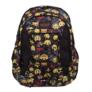 Kép 2/4 - Emoji hátizsák, iskolatáska - 3 rekeszes - Welcome to Emojiville (206085)