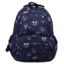 Kép 2/4 - Emoji hátizsák, iskolatáska - 4 rekeszes - Pink (207334)