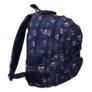 Kép 1/4 - Emoji hátizsák, iskolatáska - 4 rekeszes - Pink (207334)