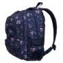 Kép 3/4 - Emoji hátizsák, iskolatáska - 4 rekeszes - Pink (207334)
