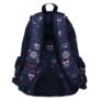 Kép 4/4 - Emoji hátizsák, iskolatáska - 4 rekeszes - Pink (207334)
