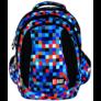 Kép 1/8 - St.Right - Pixelmania Blue  hátizsák, iskolatáska - 4 rekeszes (612015)