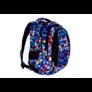 Kép 4/8 - St.Right - Pixelmania Blue hátizsák, iskolatáska - 4 rekeszes (612015)