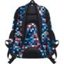 Kép 2/2 - St.Right - Pixelmania Blue hátizsák, iskolatáska - 4 rekeszes (612022)