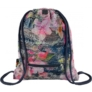 Kép 2/2 - St.Right - Flowers Pink zsinóros hátizsák (613579)