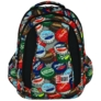 Kép 2/9 - St.Right - Bottle Caps hátizsák, iskolatáska - 4 rekeszes (617461)