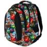 Kép 3/9 - St.Right - Bottle Caps hátizsák, iskolatáska - 4 rekeszes (617461)