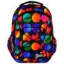 Kép 3/8 - St.Right - Colourful Dots hátizsák, iskolatáska - 3 rekeszes (617638)