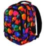 Kép 4/8 - St.Right - Colourful Dots hátizsák, iskolatáska - 3 rekeszes (617638)