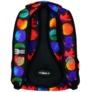 Kép 5/8 - St.Right - Colourful Dots hátizsák, iskolatáska - 3 rekeszes (617638)