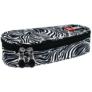 Kép 1/3 - St.Right - Zebra ovális tolltartó (618277)