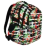 Kép 1/9 - St.Right - Tropical Stripes hátizsák, iskolatáska - 4 rekeszes (618390)