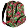 Kép 1/8 - St.Right - Flamingo Pink and Green hátizsák, iskolatáska - 4 rekeszes (618604)