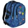 Kép 1/9 - St.Right - Jeans and Badges hátizsák, iskolatáska - 4 rekeszes (618727)