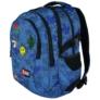 Kép 5/9 - St.Right - Jeans and Badges hátizsák, iskolatáska - 4 rekeszes (618727)
