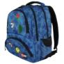 Kép 2/8 - St.Right - Jeans and Badges hátizsák, iskolatáska - 4 rekeszes (618734)