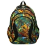 Kép 2/7 - St.Right - Abstraction hátizsák, iskolatáska - 4 rekeszes (620539)