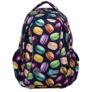 Kép 2/7 - St.Right - Macarons hátizsák, iskolatáska - 3 rekeszes (621819)