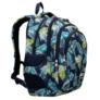 Kép 1/7 - St.Right - Tropical Leaves hátizsák, iskolatáska - 4 rekeszes (622830)