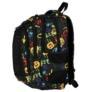 Kép 3/9 - Emoji hátizsák, iskolatáska - 4 rekeszes