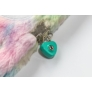 Kép 4/5 - Láma 3D szőrmés kulcsos napló - A5/96 lap - Lámakorn