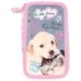Kép 2/5 - My little friend felszerelt emeletes tolltartó - Cat & Dog
