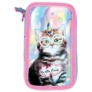 Kép 2/5 - My little friend cicás felszerelt emeletes tolltartó - Catcorn