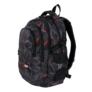 Kép 4/9 - St.Right - 3D Black Abstraction iskolatáska, hátizsák - 4 rekeszes