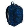 Kép 1/8 - St.Right - 3D Navy Abstraction hátizsák, iskolatáska - 3 rekeszes