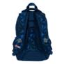 Kép 3/8 - St.Right - 3D Navy Abstraction hátizsák, iskolatáska - 3 rekeszes