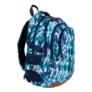 Kép 1/9 - St.Right - Blue Leaves iskolatáska, hátizsák - 4 rekeszes