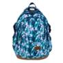 Kép 2/9 - St.Right - Blue Leaves iskolatáska, hátizsák - 4 rekeszes