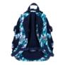Kép 3/9 - St.Right - Blue Leaves iskolatáska, hátizsák - 4 rekeszes